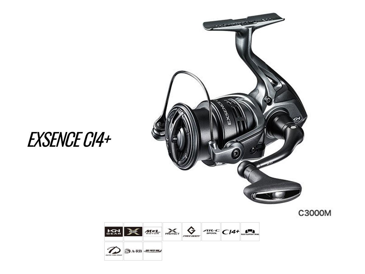 Shimano Exsence CI4+ Spinnrollen