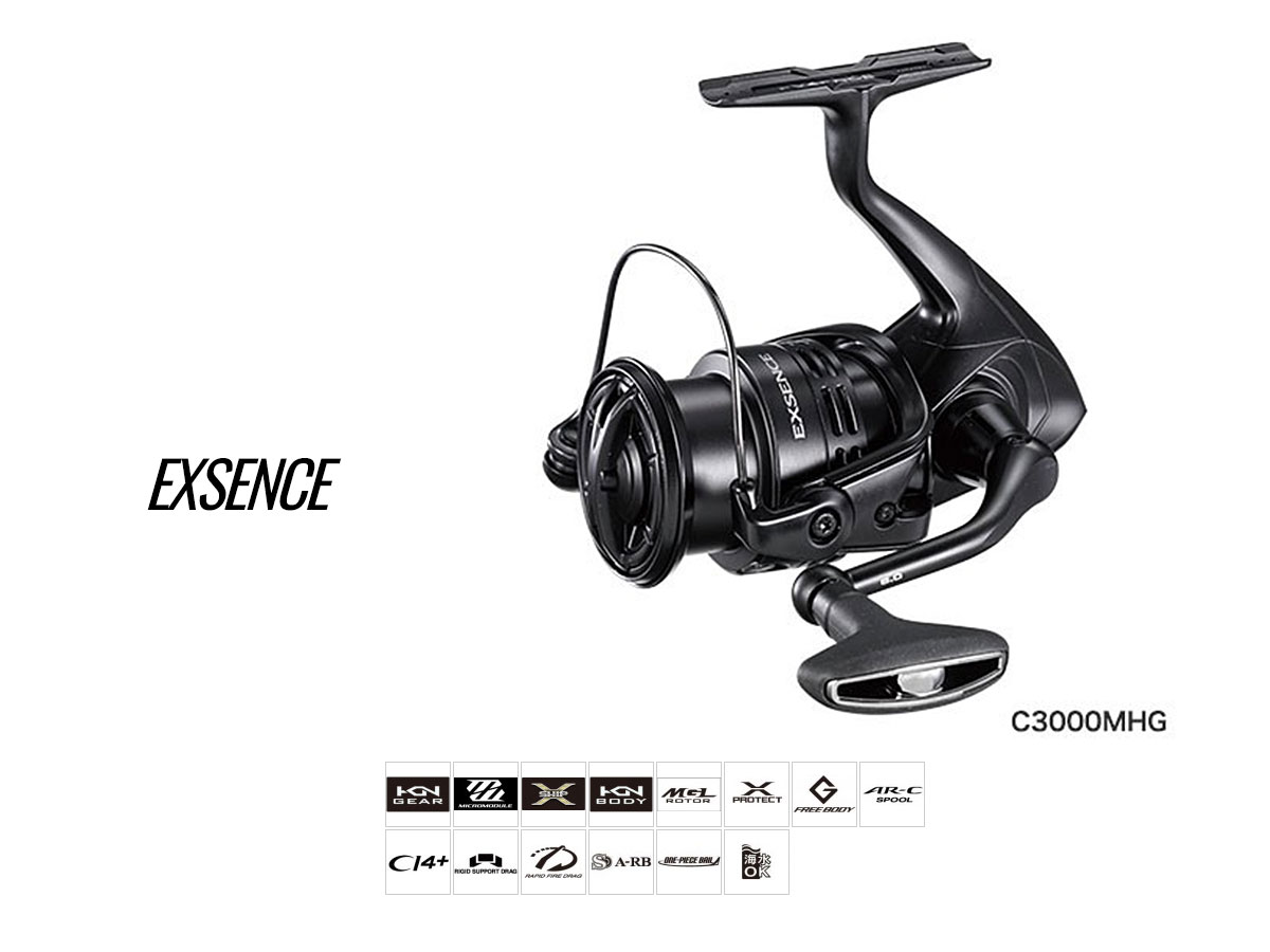 Shimano Exsence Seabass Rolle