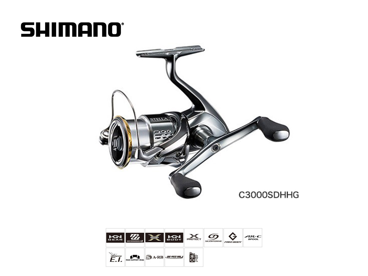 717b2431b86 Shimano Stella FJ (2018) Größe C3000 S (bsotcaster) ...