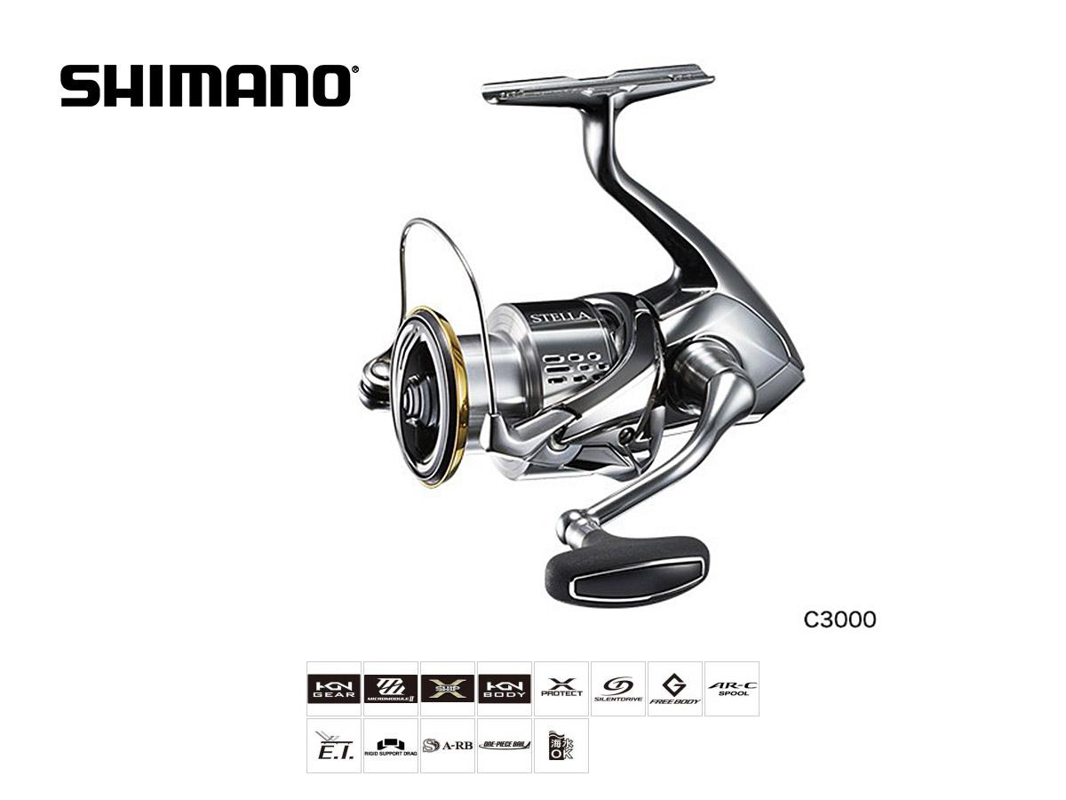 Shimano Stella FJ (2018) Größe C3000 S
