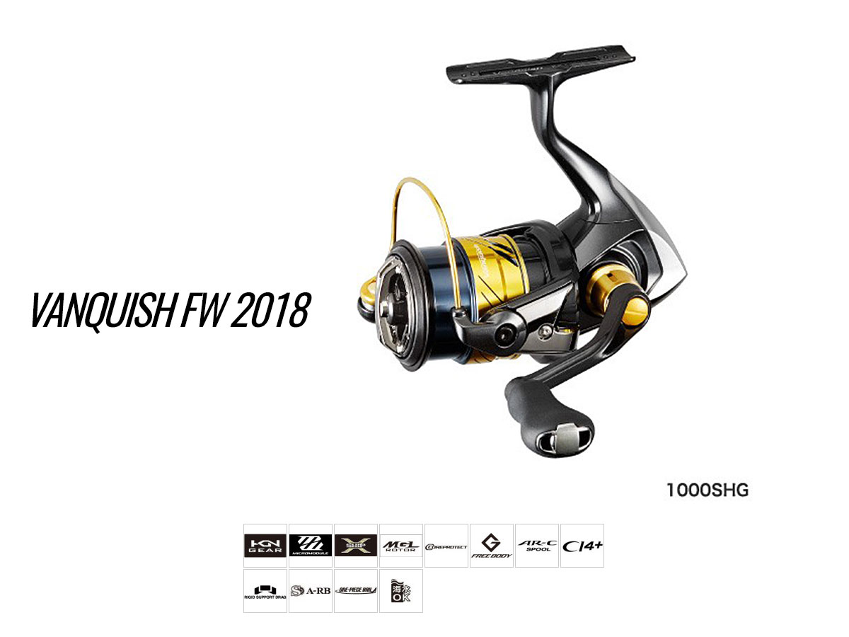 Shimano Vanquish FW 2018 Finesse Rolle