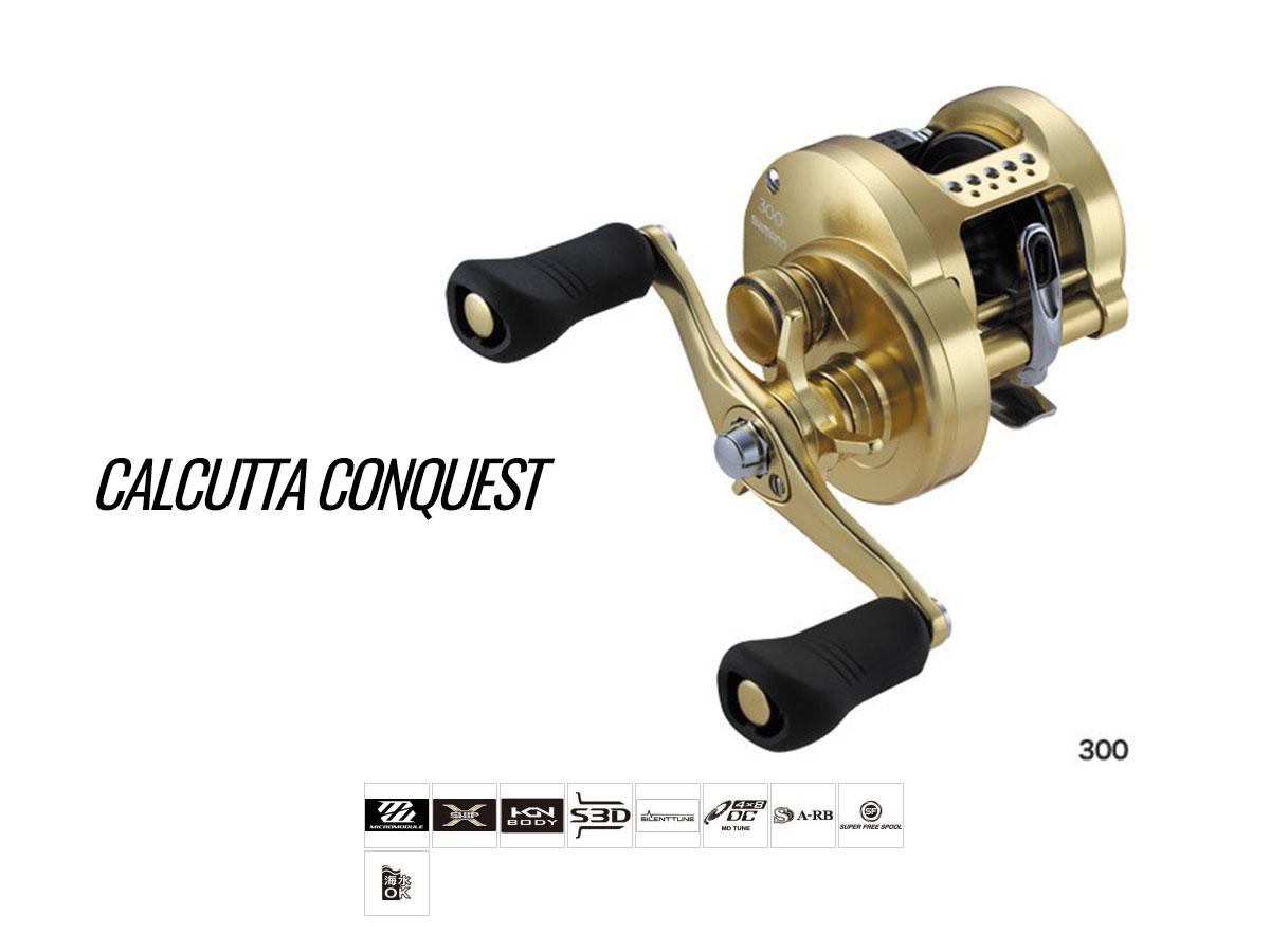 Shimano Calcutta Conquest Round Profile BC