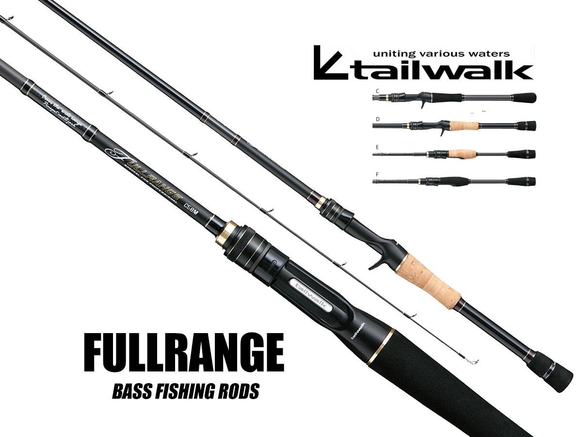 Tailwalk Fullrange Baitcast- und Spinnruten