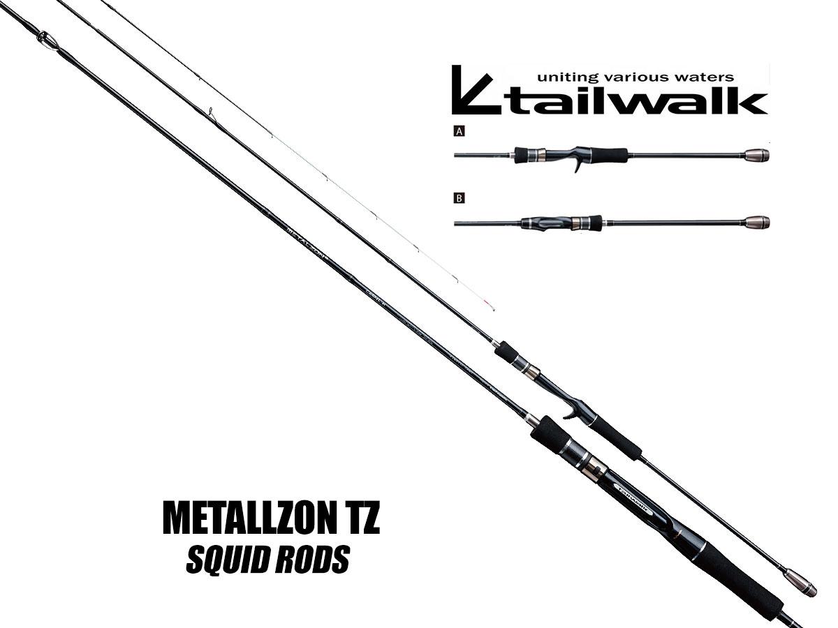Tailwalk METALLZON TZ Premium-Spinnruten mit FUJI Torzite
