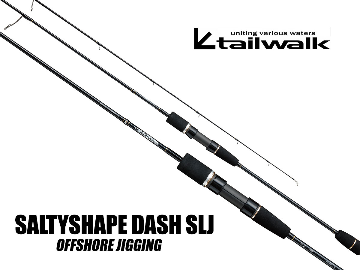 Tailwalk SALTY SHAPE DASH SLJ Slow Jigging Ruten