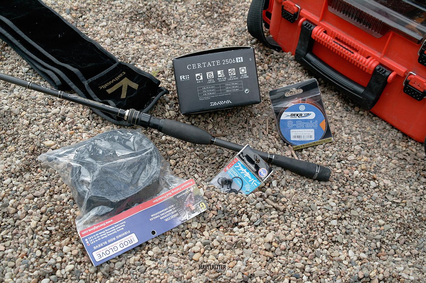 Tailwalk Fullrange S67MH Setup - Rolle, Schnur und Zubehör