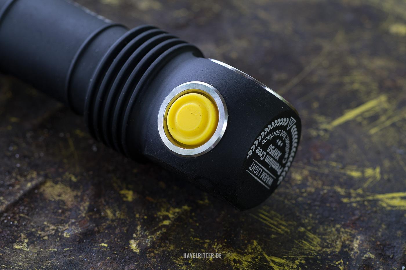 Armytek Wizard Pro - Lampenkopf mit Taster und LED