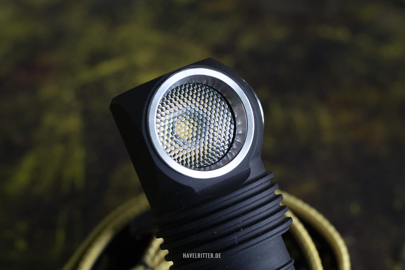 Armytek Wizard Pro - TIP Linse und Optik
