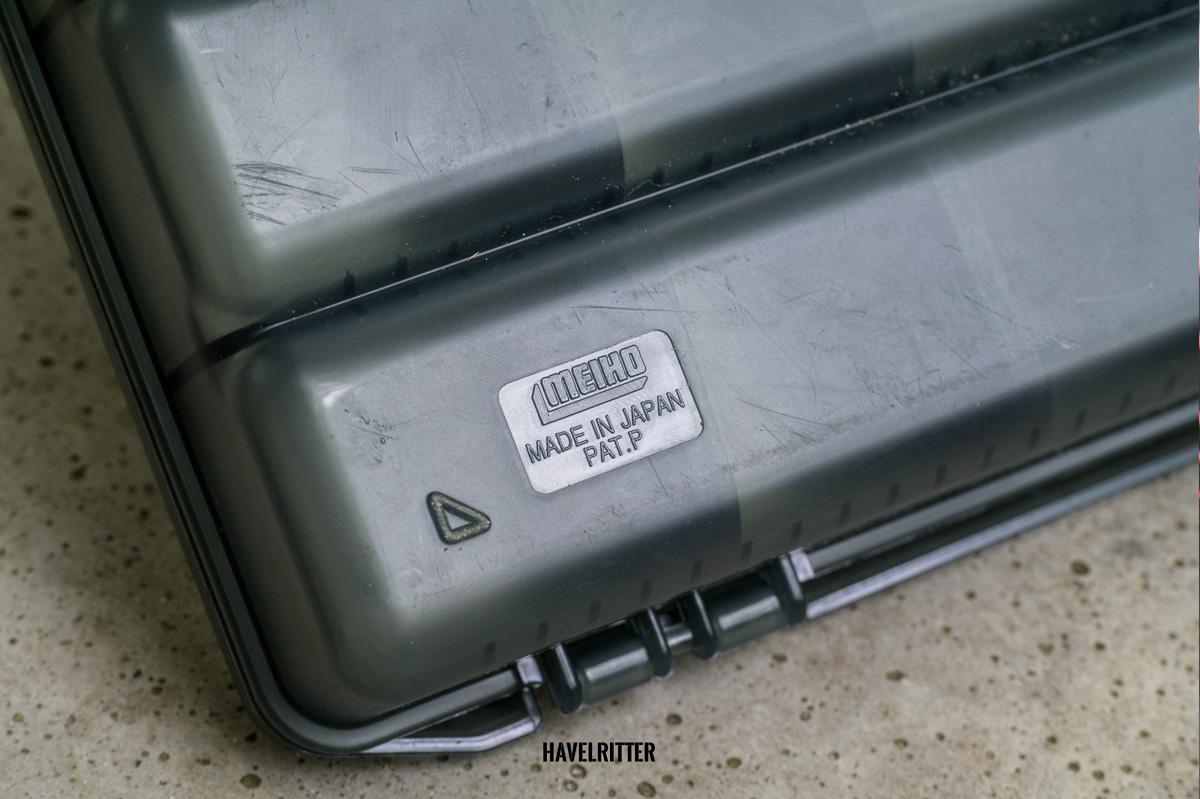 MEIHO Versus VS 3020 Tackle Box - Logo unten