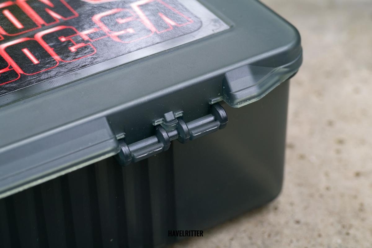 MEIHO Versus VS 3020 Tackle Box - Scharnier, zusammen