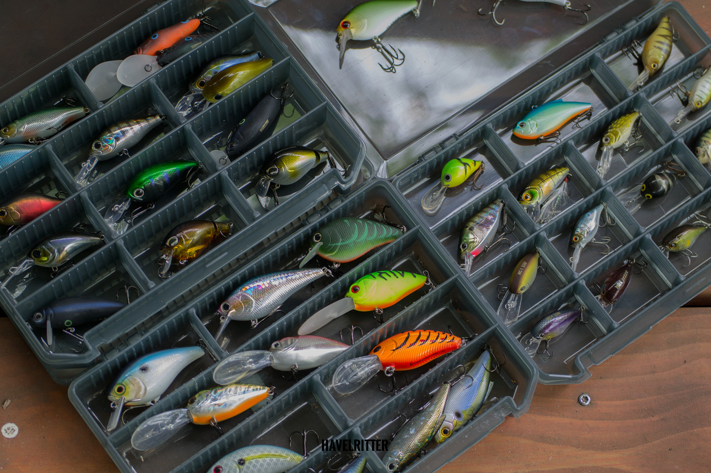 MEIHO Versus VS 3020 Tackle Box für Wobbler - Minnows, Crankbaits, Jerkbaits