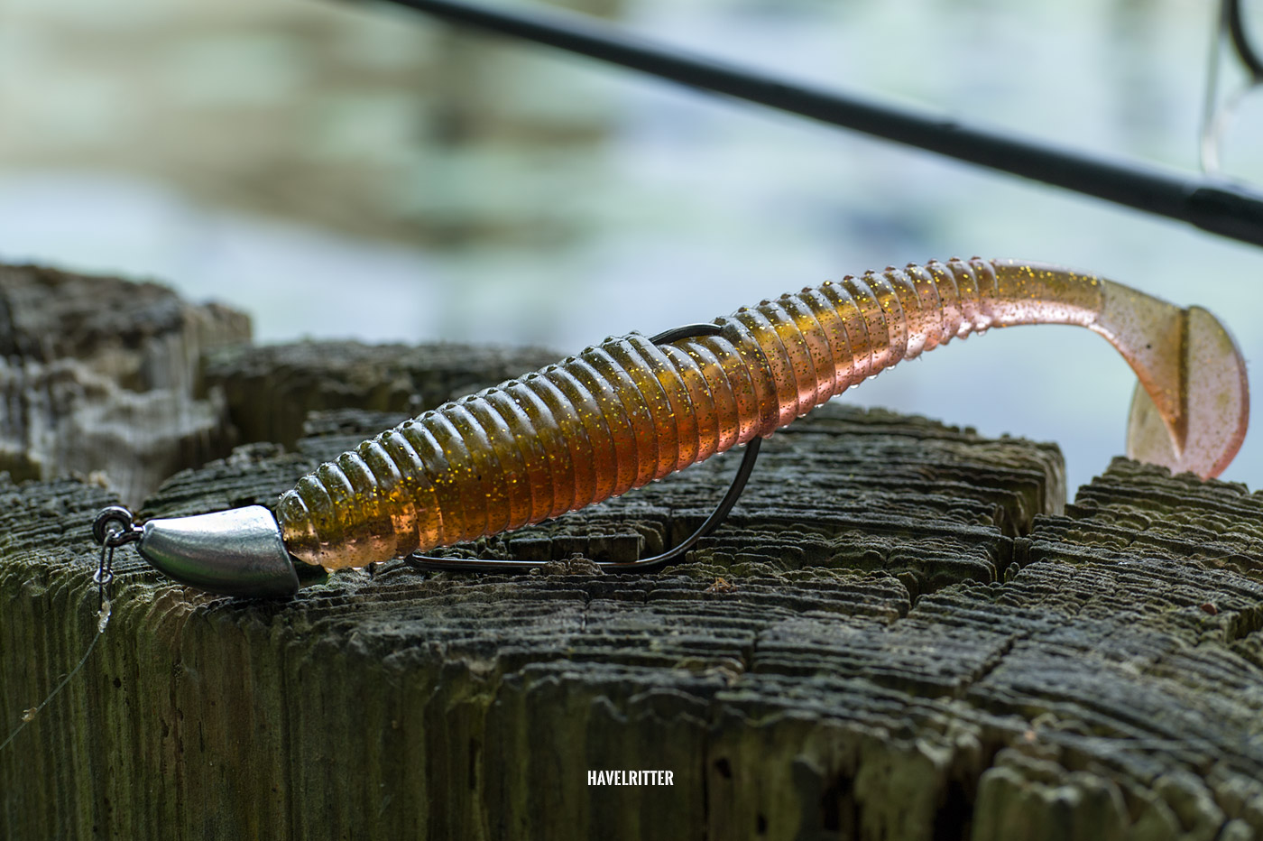 Fish Arrow AirBag Shad 4.5 am Decoy VJ-36 Decibo Violence Offset-Jig