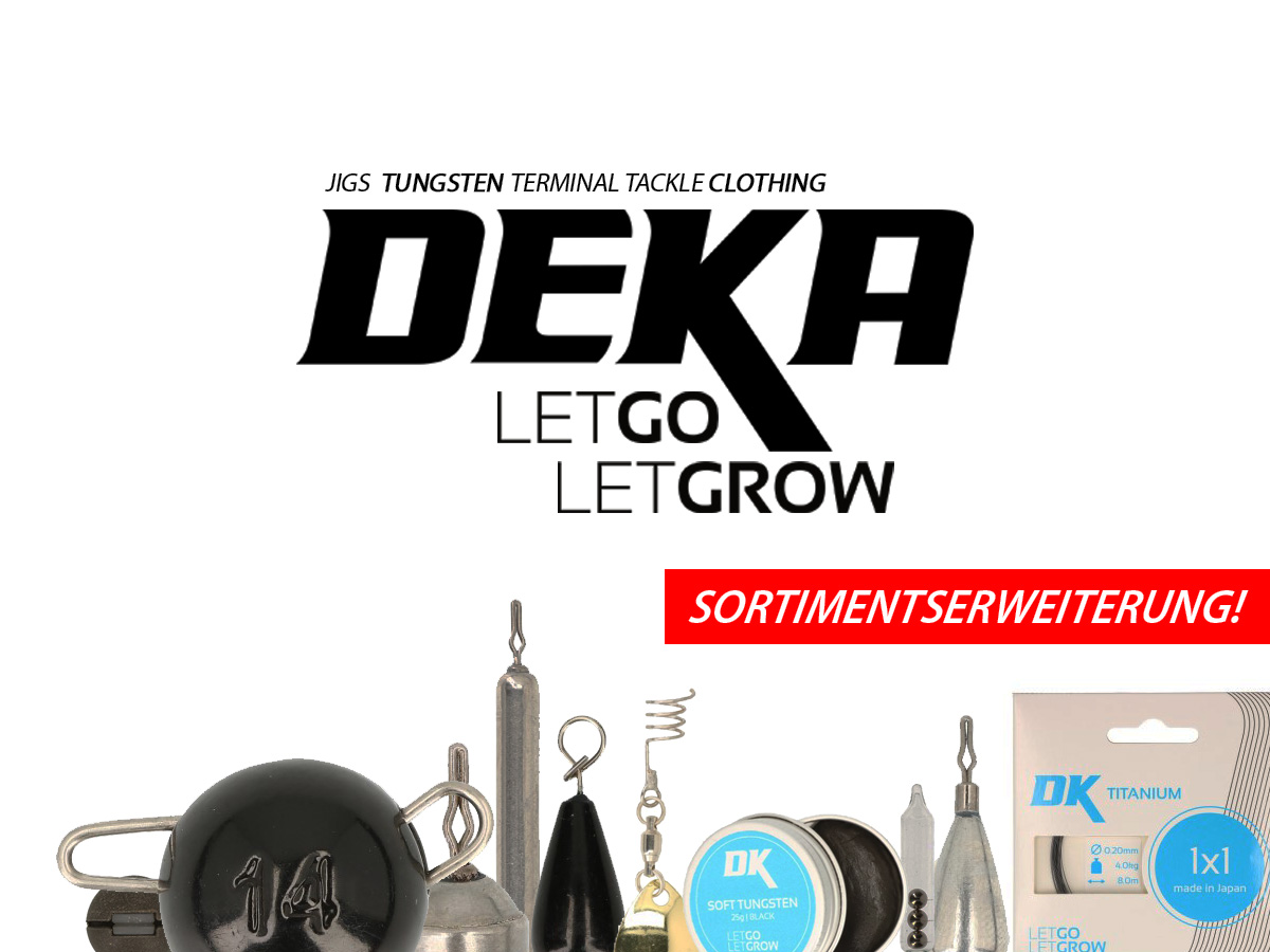 DEKA Temrinal Tackle - Sortimentserweiterung + Gutschein!