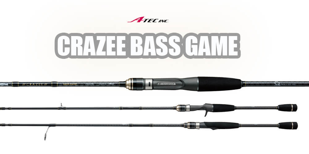A-TEC Crazee Bass Game Rutenserie