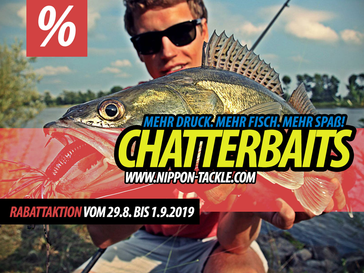 Chatterbaits bei Nippon-Tackle!