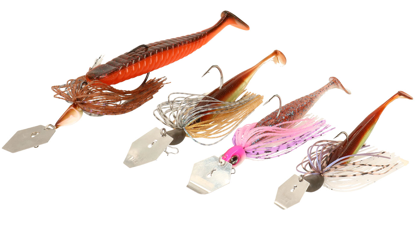 Neue Chatterbaits bei Nippon-Tackle