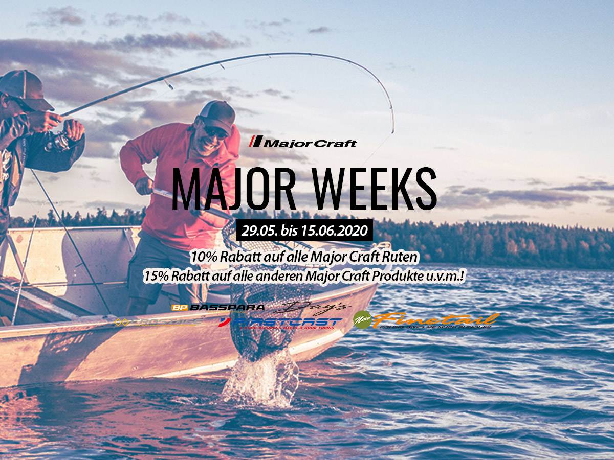 Major Craft Wochen bei Nippon-Tackle!